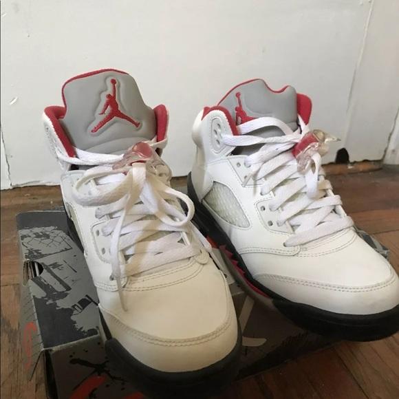 new style ad0e6 24e92 2013 Air Jordan 5 Retro White Red  Black size 4.5. Jordan.  M 5bb67756e944ba55fa376ed1. M 5bb677582beb793dea77da23.  M 5bb6775ac9bf50cf681d602c